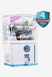 Kent Grand Plus 8L RO + UV + UF Water Purifier (White)