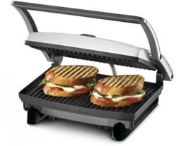 Nova 2 SLICE SANDWICH MAKER Grill Black & Steel