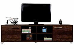 DeckUp Uniti TV Stand and Home Entertainment Unit (Wenge, Matte Finish)