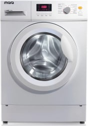 MarQ by Flipkart 6.5 kg Fully Automatic Front Load Washing Machine White MQFLXI65