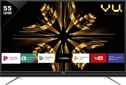 Vu Official Android 140cm (55 inch) Ultra HD (4K) LED Smart TV 55SU134