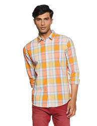 United Colors of Benetton Men s Checkered Slim Fit Casual Shirt