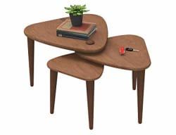 Forzza FO-5108 Hamlin Nesting Table,Brown
