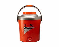 Milton Kool Stallion Water Carrier, 9.7 Litres, Orange,(EC-THF-FTW-0018_Orange)