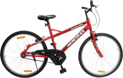 HERCULES Trailblazer RF 26 T Mountain Cycle (Single Speed, Red)