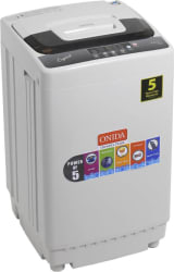 Onida 6.5 kg Fully Automatic Top Load Washing Machine Grey Crystal 65