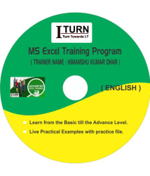 MS Excel from Beginners to Expert Level ( 72 Videos) DVD