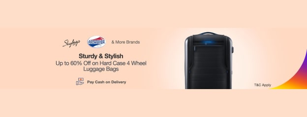 Luggage Bags | Up to 60% Off