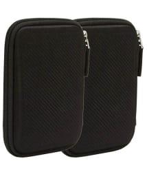 Pi World Black External Hard Disk Cover - Black (Pack Of 2)