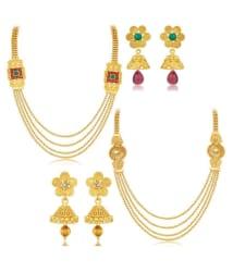 Sukkhi Necklace set Combo