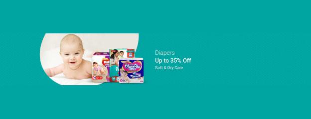 Baby Diapers Store - Buy Diapers Online in India At Best Prices - Flipkart.com
