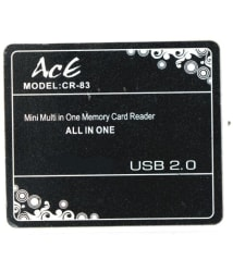 aceinlife 83 Black 2.0 Card Reader