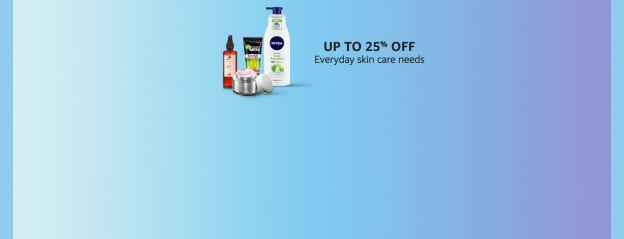 Skin care - up to 25% off