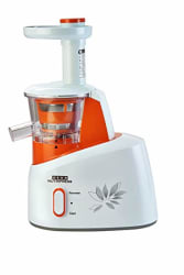 Usha Nutripress (361S) 200-Watt Cold Press Slow Juicer (White/Orange)