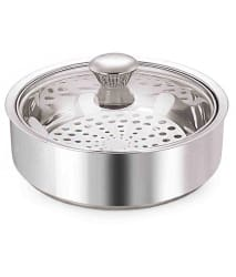NanoNine Silver Stainless Steel 1150 ml Casserole
