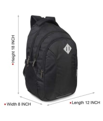 Skybags Black Backpack