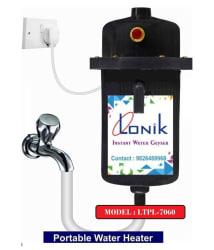 Lonik 1 Ltr LTPL-7060-BLACK Instant - Geysers MULTICOLOUR