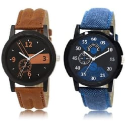 Glamexy Combo of 2 Boy Watches