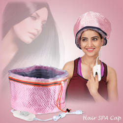 Kawachi Hair Care Thermal Head Spa Steamer Cap (Assorted Color ; Pink, Red & Purple)