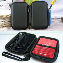 Hard Disk Drive Shockproof Zipper Cover Bag Case 2.5\
