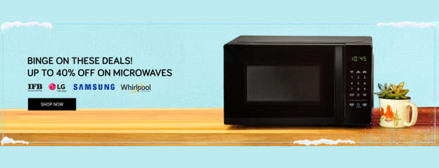 Microwave Oven Upto 40% Off | Buy Microwave Ovens Online at Tata CLiQ