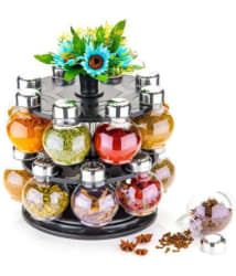Lion Lender Polycarbonate Spice Container Set of 16