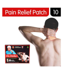 Dr. Ortho Pain Relieving Patch, 10 Large Patches (Helpful in Back Pain, Neck Pain, Shoulder Pain, Leg Pain, Joint Pain)