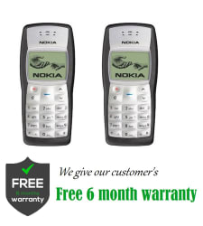 CERTIFIED USED Nokia 1100-1100 ( 32 MB , Black , , 6 Month Seller Warranty )