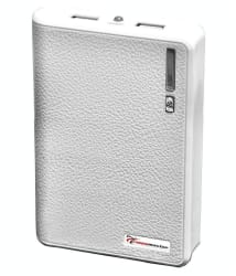 Lappymaster LMP0-061 10400 -mAh Li-Ion Power Bank White
