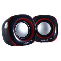 Quantum QHM602 2.0 Multimedia Speaker for Laptop, PC, Mobiles & more