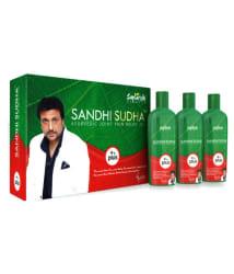 sandhi sudha oil 3 bottals 1 bottals 200 ml oil