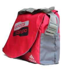 Adidas Messenger Bag Red Nylon Casual Messenger Bag/Side Bag