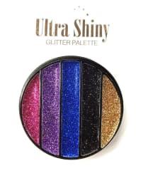 SFR Ultra Shinny Glitter Eyeshadow Palette 5 Shades