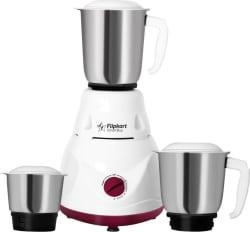 Flipkart SmartBuy FKSBMG50DHWMSUV 500 W Mixer Grinder White, Maroon, 3 Jars