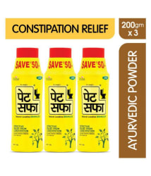 Pet Saffa Natural Laxative Granules 200gm, Pack of 2 - Helpful In Constipation, Gas, Acidity, Kabz Churna