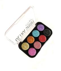 SFR Ultra Shiny Girl Glitter Eyeshadow Palette 8 Shades