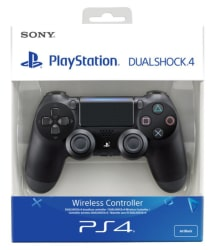 Sony Dualshock 4 V2 Wireless Controller For PC, PS4, PS4 Slim, PS4 Pro (Black)