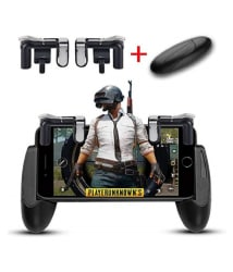 WASKEL PUBG Game Controller with Hand Grip For Android , iOs (Wireless)