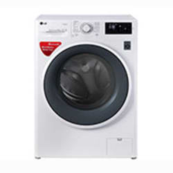 LG 6 kg Fully Automatic Front Loading Washing Machine (FHT1006SNW, Blue White)