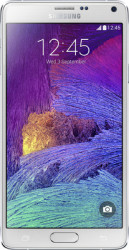 Samsung Galaxy Note 4 (Frost White, 32 GB) 3 GB RAM
