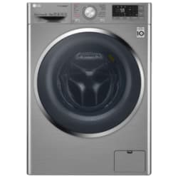 LG 9/5 kg Fully Automatic Front Loading Washing Machine (F4J8VHP2SD, Stainless Steel)