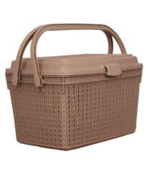 Tupperkart Knit Style fruit and vegetable basket (Beige)