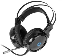 HP Wired Gaming with 3.5mm Jack And USB Wired Headset with Mic Black, Over the Ear