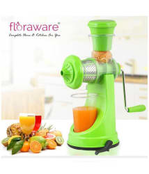 Floraware Light Green Fruit & Vegetable Manual Nano Juicer