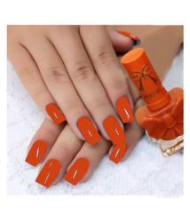 Miss Rose long lasting Nail Polish orange - 3 ml