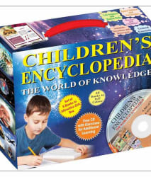 CHILDREN S ENCYCLOPEDIA - THE WORLD OF KNOWLEDGE