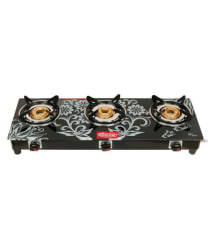 SAFELINE COMPACTRA 3 Burner Manual Gas Stove