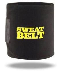 Sahani Traders Unisex hot shaper Waist Trimmer Black Exercise Body Slimming Belt Free Size Sweat Slim Belt