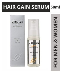 Sure Gain Hair Gain Serum 50ml, Hair Serum for Men & Women (Hair Growth Serum with Aloe vera)