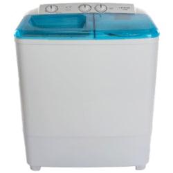 Croma 6.5 kg Semi Automatic Top Loading Washing Machine (CRAW2221, White)